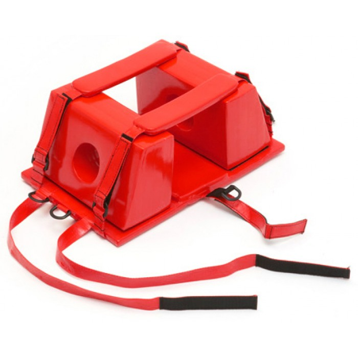 Lifeguard Head Immobilizer - Red