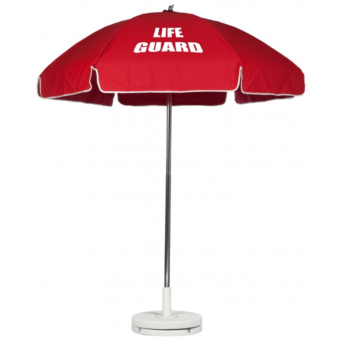 Lifeguard Umbrella with no Tilt - 6.5'