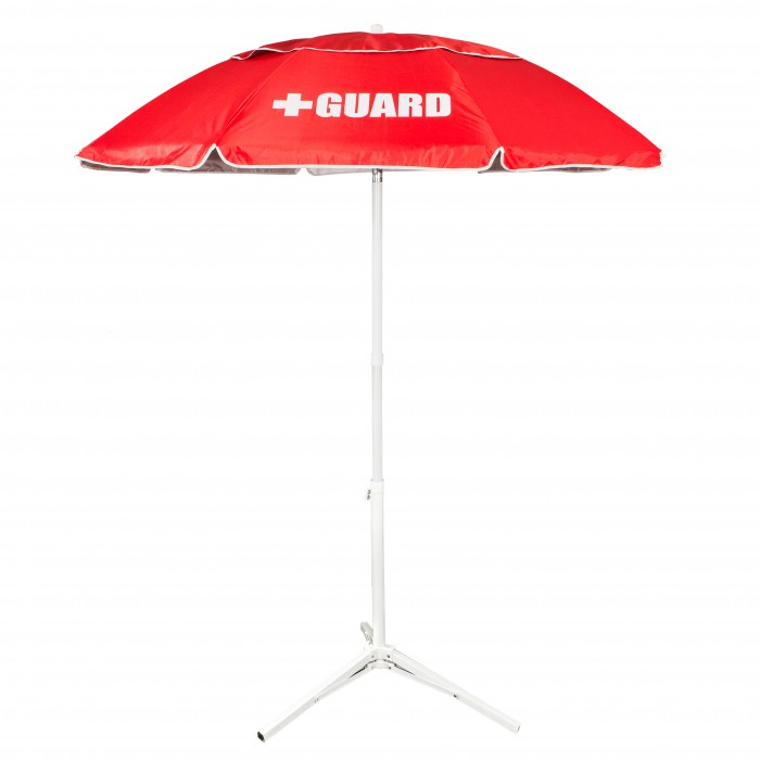 Solar Lifeguard Umbrella - 6'