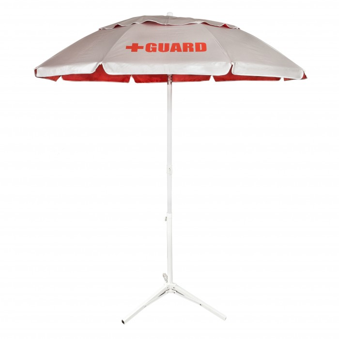 Solar Lifeguard Umbrella Underside - 6'
