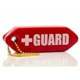 Lifeguard Rescue Tube Keychain