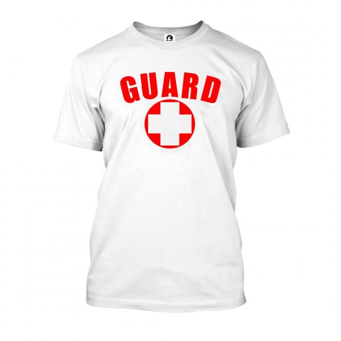 White Lifeguard T-Shirt