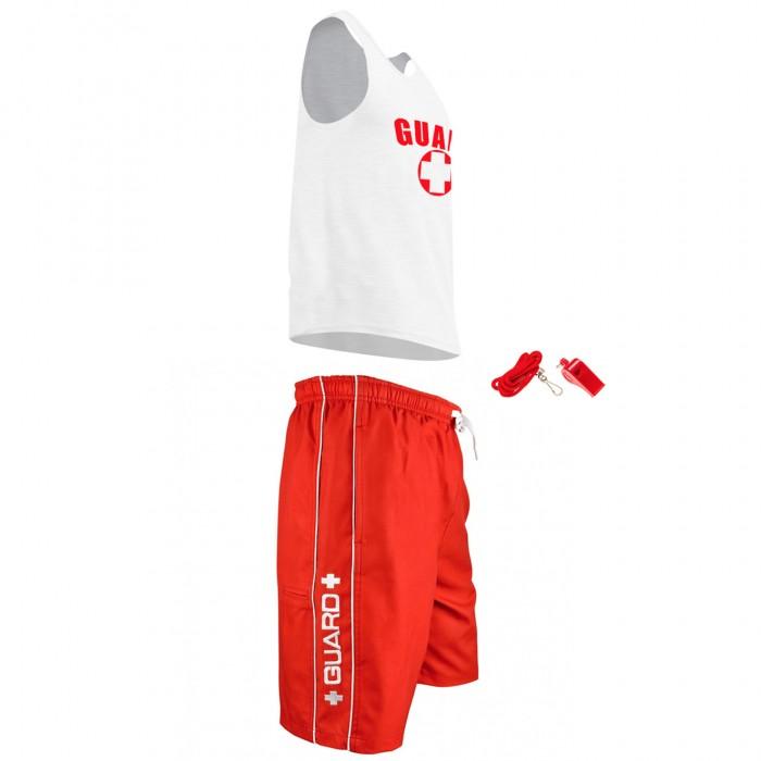 Mens Lifeguard Tank Outfit