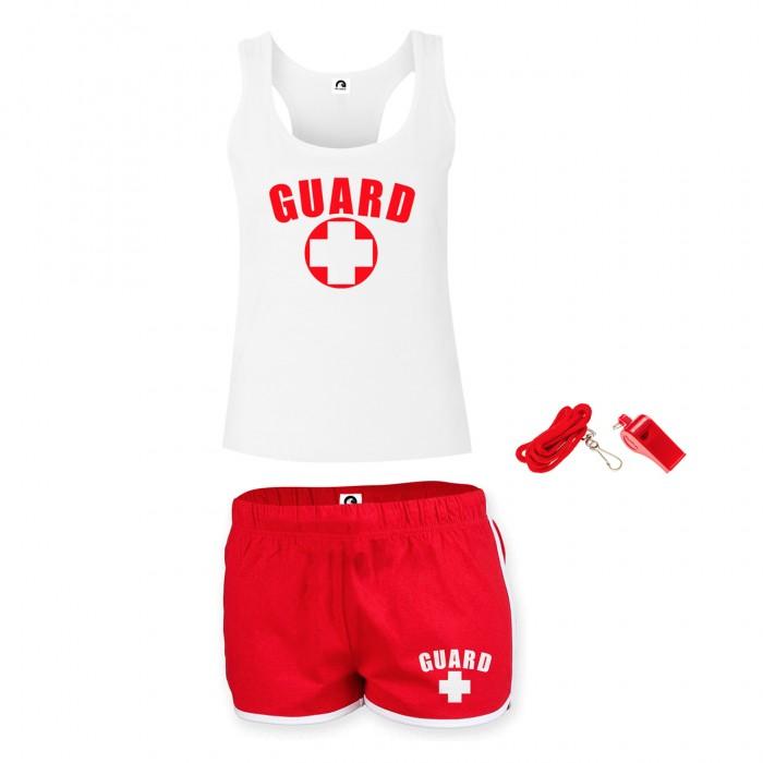 Womens Lifeguard Racerback Outfit