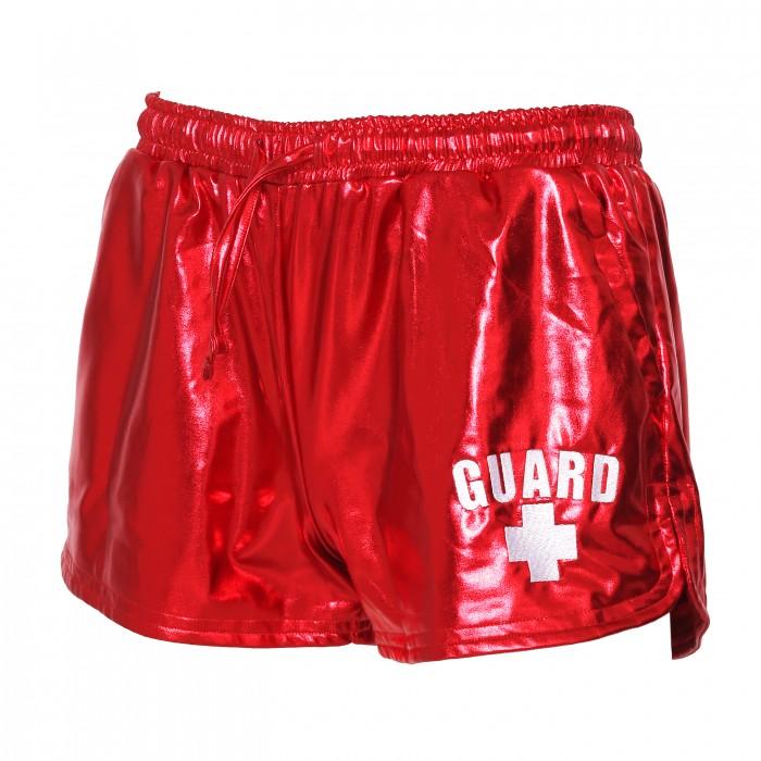 Womens Lifeguard Metallic Shorts