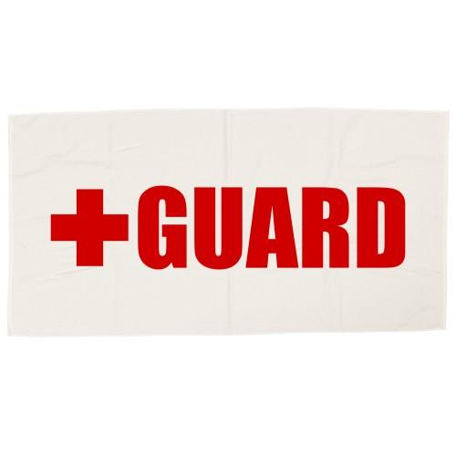 Lifeguard Beach Towel