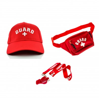 Lifeguard Costume Accessories Kit