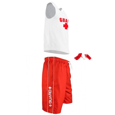 Mens Lifeguard Tank Outfit
