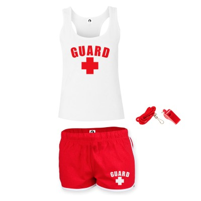 Womens Lifeguard Racerback Outfit