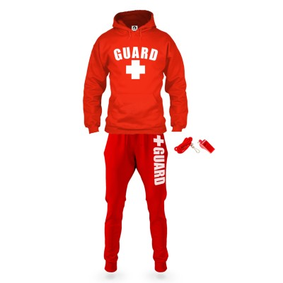 Lifeguard Sweatsuit Outfit