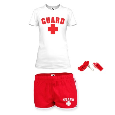 Womens Standard Lifeguard Outfit