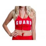 Lifeguard Crop Tank Top