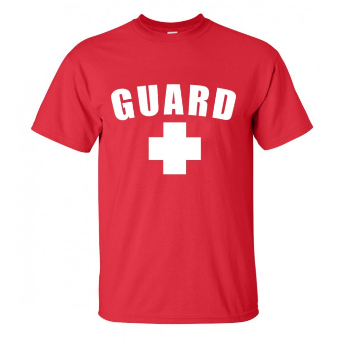 Red Lifeguard T-Shirt