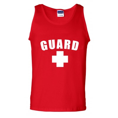 Red Lifeguard Tank Top