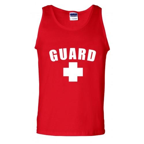 Red Lifeguard Tank Top