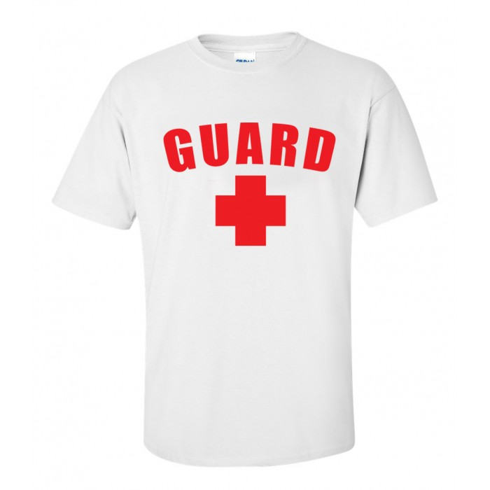 White Lifeguard T-Shirt