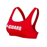 Lifeguard Swimsuit Wide Strap Top