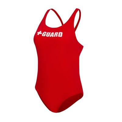 Lifeguard Swimsuit Wide Strap w/Shelf Bra 1pc