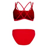 Lifeguard Swimsuit Double Cross Strap 2pc