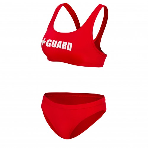 Lifeguard Swimsuit Wide Strap 2pc