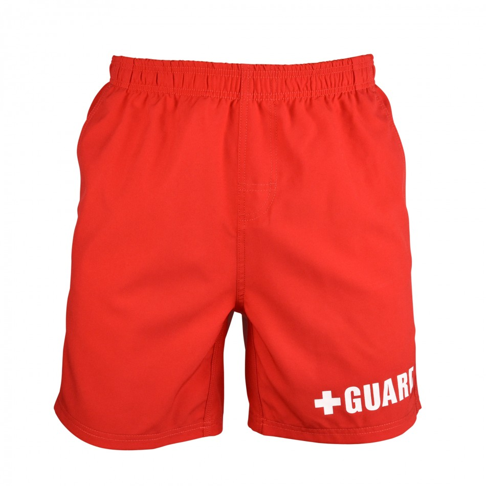 14bcc9a5b9 Lifeguard Swim Trunks - Above the Knee
