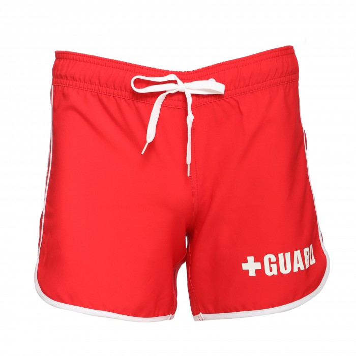 Womens Lifeguard Piped Board Shorts